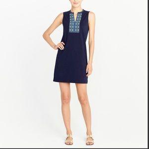 NWT J crew knit tank embroidered dress